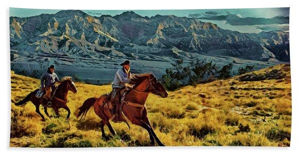 Ride'm Cowboy Beach Towel