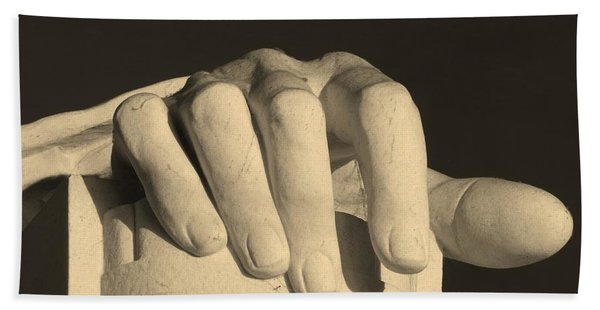 Right Hand Of The Man Beach Towel