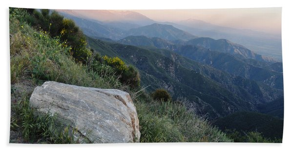 Rim O' The World National Scenic Byway Beach Towel