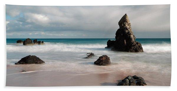 Rocky Beach On Sango Bay Beach Sheet