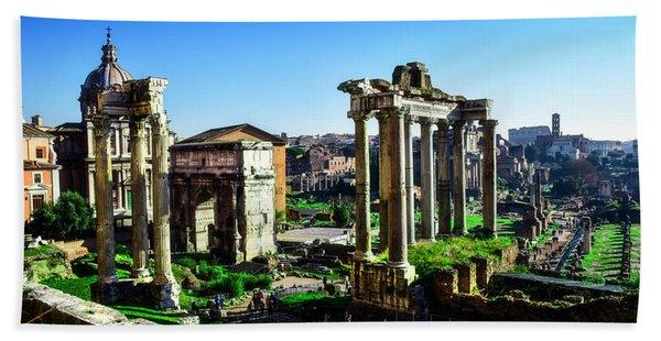 Roman Forum Beach Towel