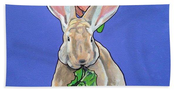 Ronnie The Rabbit Beach Towel