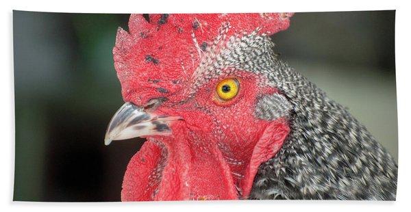 Rooster Named Brute Beach Towel