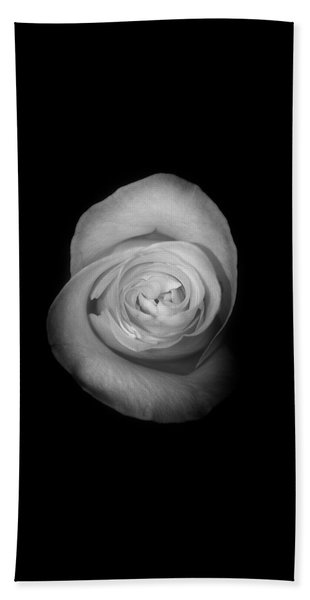Rose From The Shadows Beach Towel
