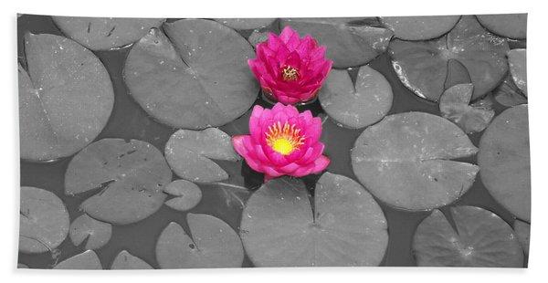 Rose Of The Water Beach Towel