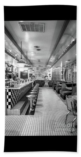 Route 66 Diner  Beach Sheet