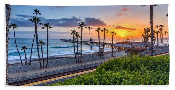 San Clemente Beach Towel