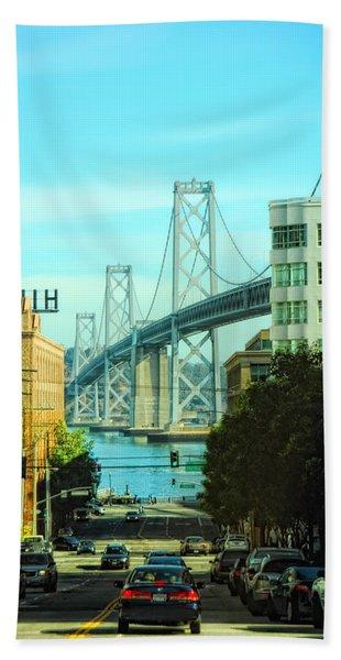 San Francisco Street Beach Towel