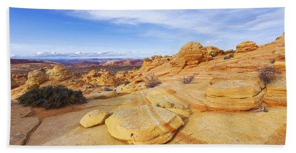 Sandstone Wonders Beach Towel