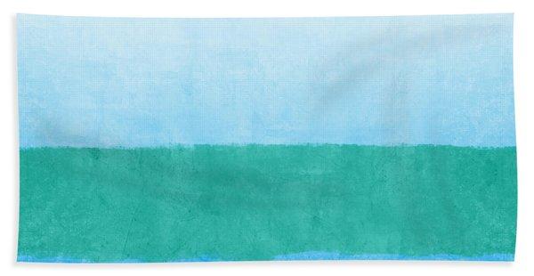 Sea Of Blues Beach Towel