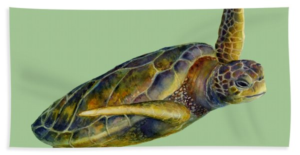 Sea Turtle 2 Beach Towel