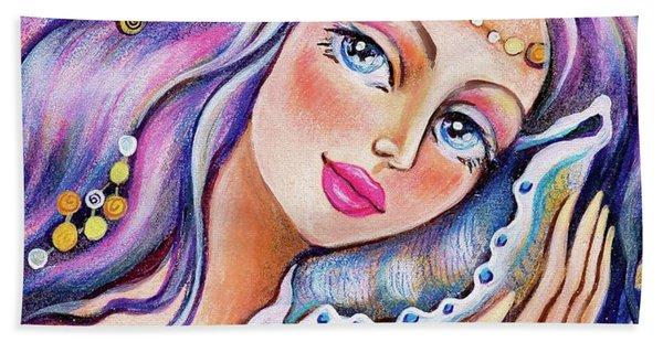 Seashell Reverie Beach Towel
