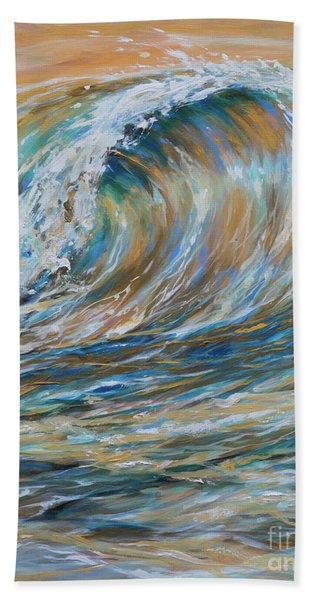 Seaspray Gold Beach Towel