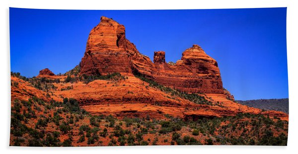 Sedona Rock Formations Beach Sheet