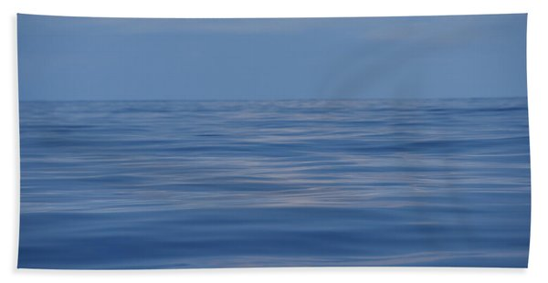 Serene Pacific Beach Towel
