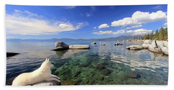 Beach Towel featuring the photograph Sierra Sphinx by Sean Sarsfield