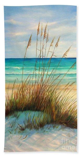 Siesta Key Beach Dunes  Beach Towel