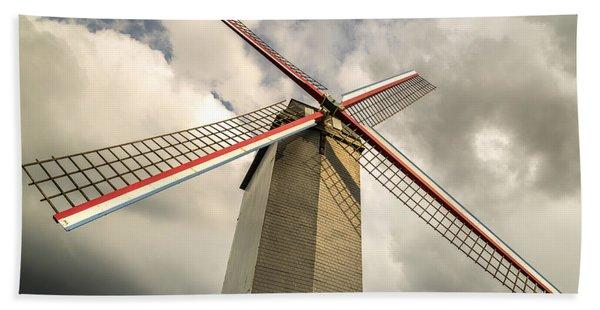 Sint Janshuismolen Windmill 2 Beach Towel