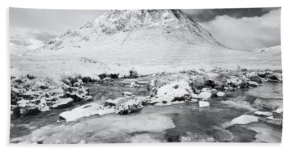 Snow In Glencoe Beach Towel