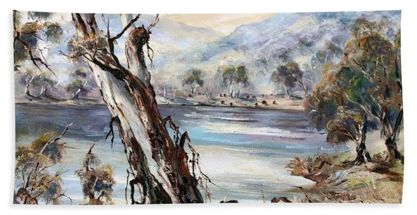 Snowy River Beach Towel