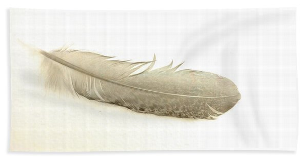 Softness Of A Feather Beach Towel
