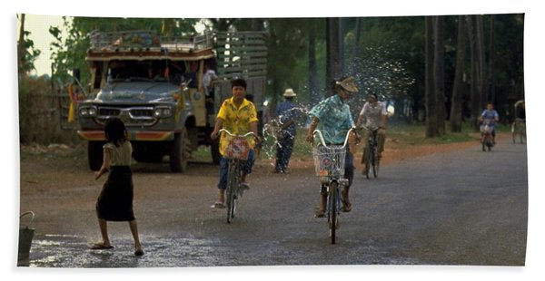 Photograph - Songkran In Vientiane, Laos by Travel Pics