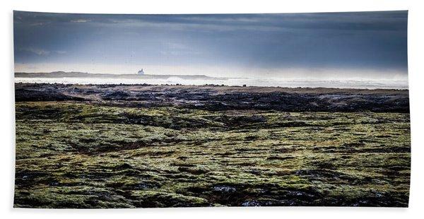 South West Iceland Beach Towel