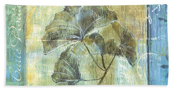 Spa Gingko Postcard  2 Beach Towel