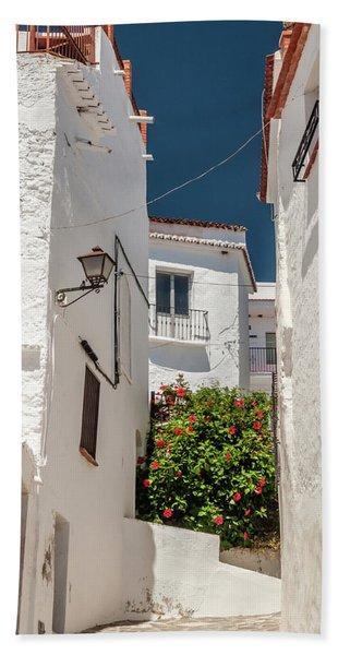 Spanish Street 2 Beach Towel