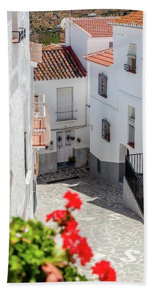 Spanish Street 3 Beach Towel