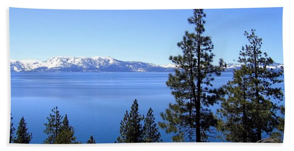 Spectacular Lake Tahoe Beach Towel