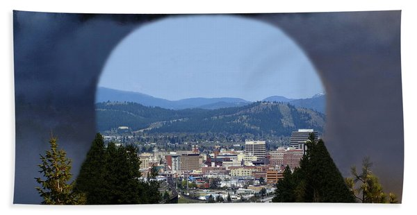 Spokane Near Perfect Nature Beach Towel