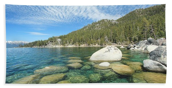 Beach Towel featuring the photograph Spring Shores  by Sean Sarsfield