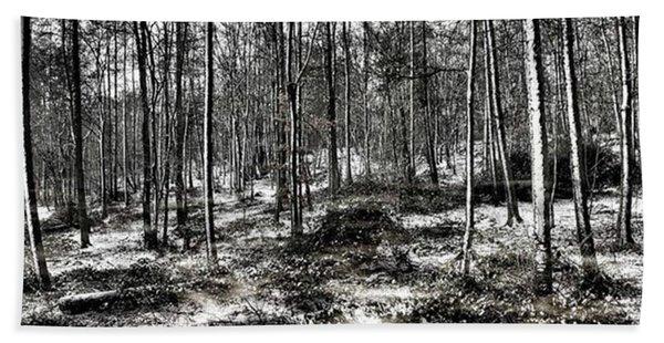 St Lawrence's Wood, Hartshill Hayes Beach Towel