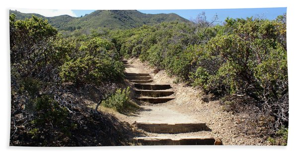 Stairway To Heaven On Mt Tamalpais Beach Towel