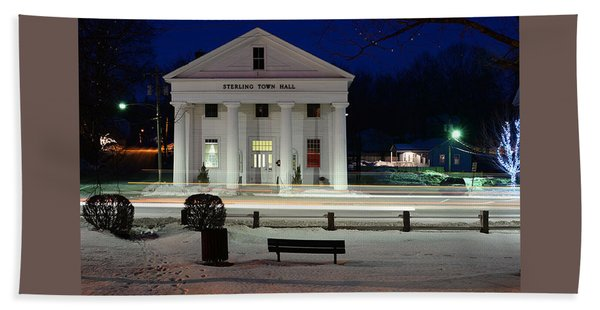 Sterling Town Hall Beach Towel