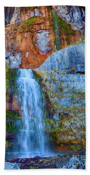 Stewart Falls Beach Towel