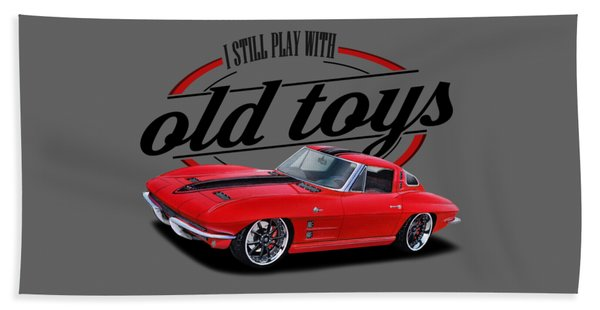 Still Play With Hot Vettes Beach Towel