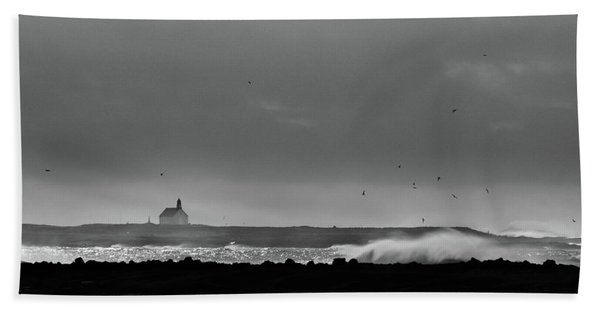 Storm Brewing Beach Towel