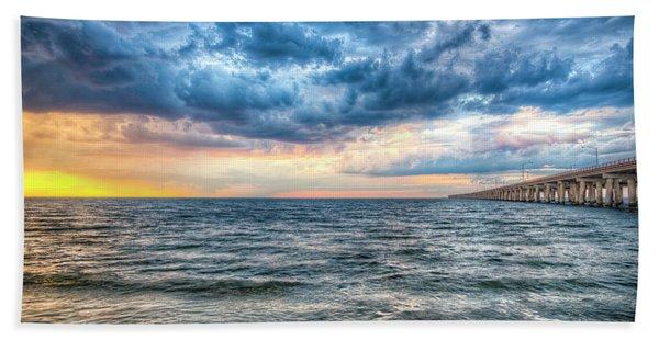Storm Rising Beach Towel
