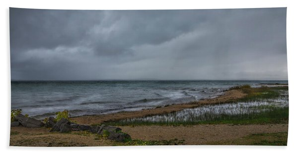 Straits Of Mackinac Beach Towel