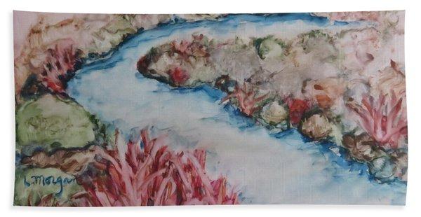 Stream Of Dreams Beach Towel