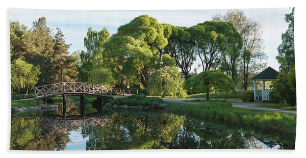 Summer Park Beach Towel