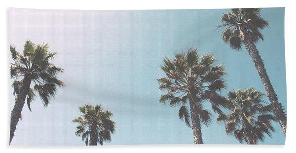 Summer Sky- By Linda Woods Beach Towel