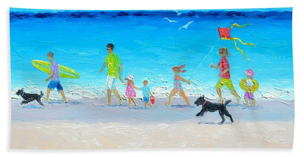Summer Vacation Time Beach Towel