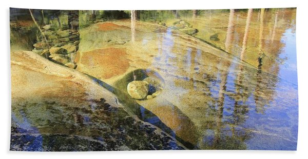 Beach Towel featuring the photograph Summers Depth by Sean Sarsfield