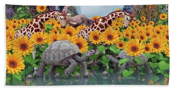 Sunflower Daydream II Beach Towel