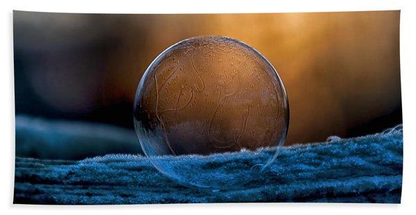 Sunrise Capture In Bubble Beach Towel