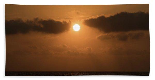 Sunrise Cloud Break Delray Beach Florida Beach Towel