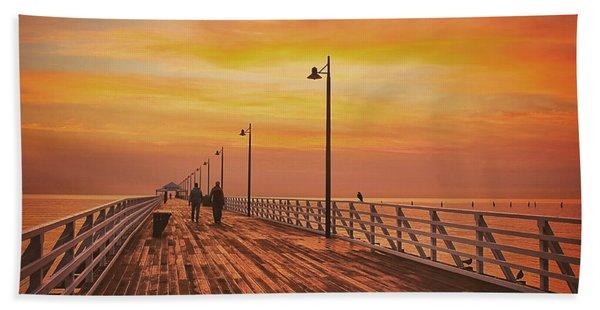 Sunrise Lovers Beach Towel